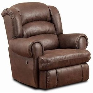 HomeStretch 113 Casual Power Big and Tall Recliner