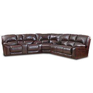 HomeStretch 114 Series Reclining Sectional