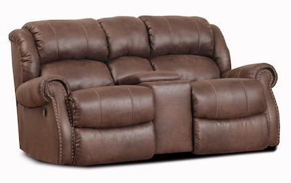 HomeStretch 120 - 22 Rocking Console Loveseat - Item Number: 120-23-22