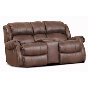 HomeStretch 120 - 22 Rocking Console Loveseat