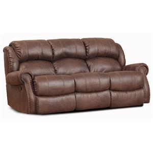 HomeStretch 120 - 22 Double Reclining Sofa