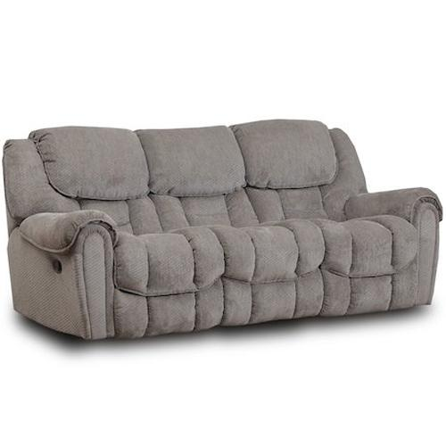 HomeStretch 122 Casual Reclining Sofa - Item Number: 122-30-14