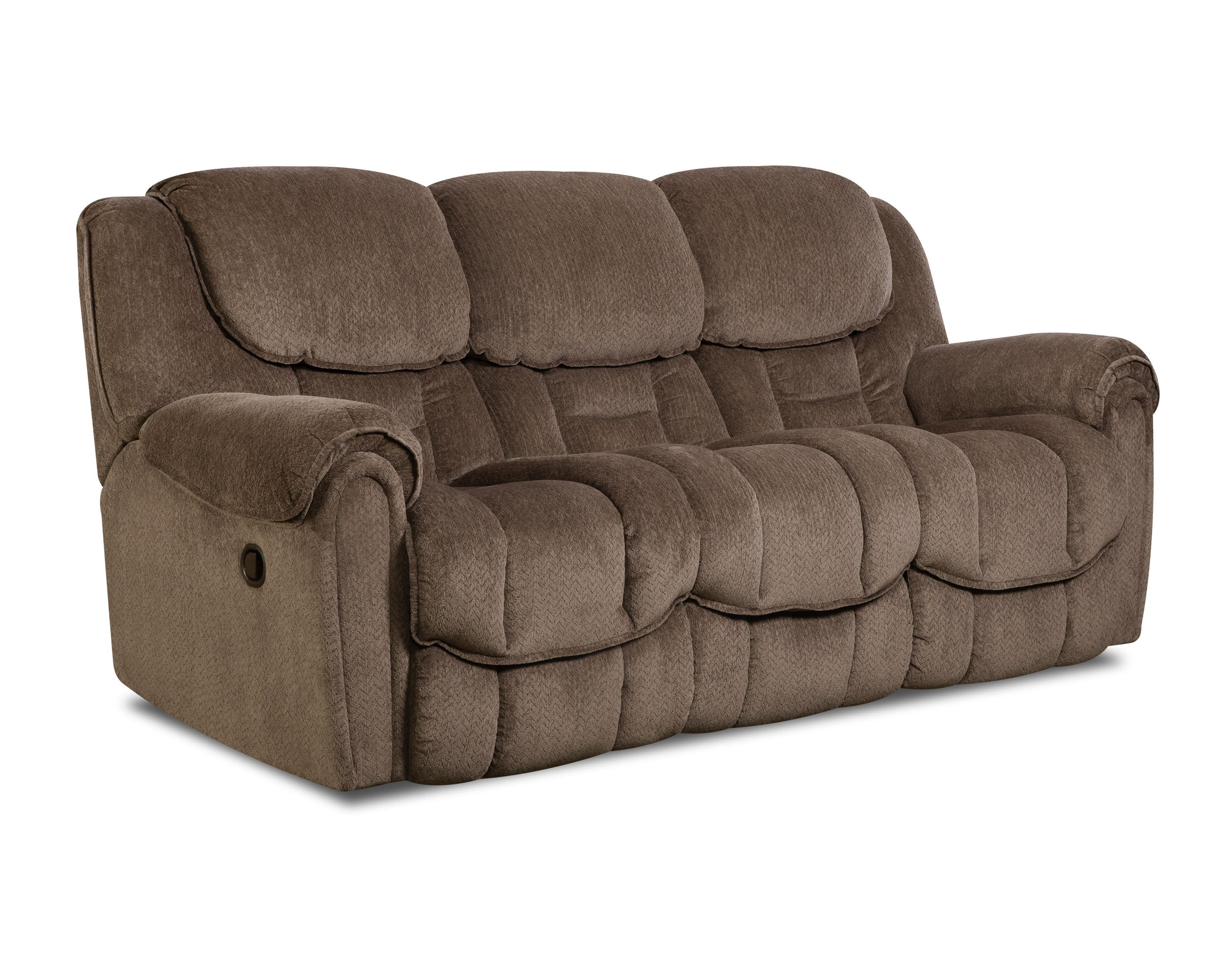 HomeStretch 122 Casual Reclining Sofa - Item Number: 122-30-17