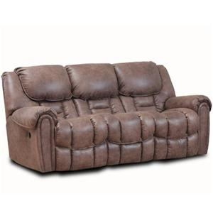 HomeStretch 122 Casual Power Reclining Sofa