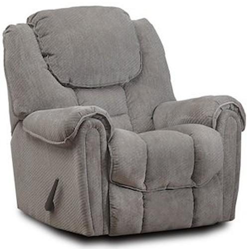 HomeStretch 122 Casual Rocker Recliner - Item Number: 122-91-14