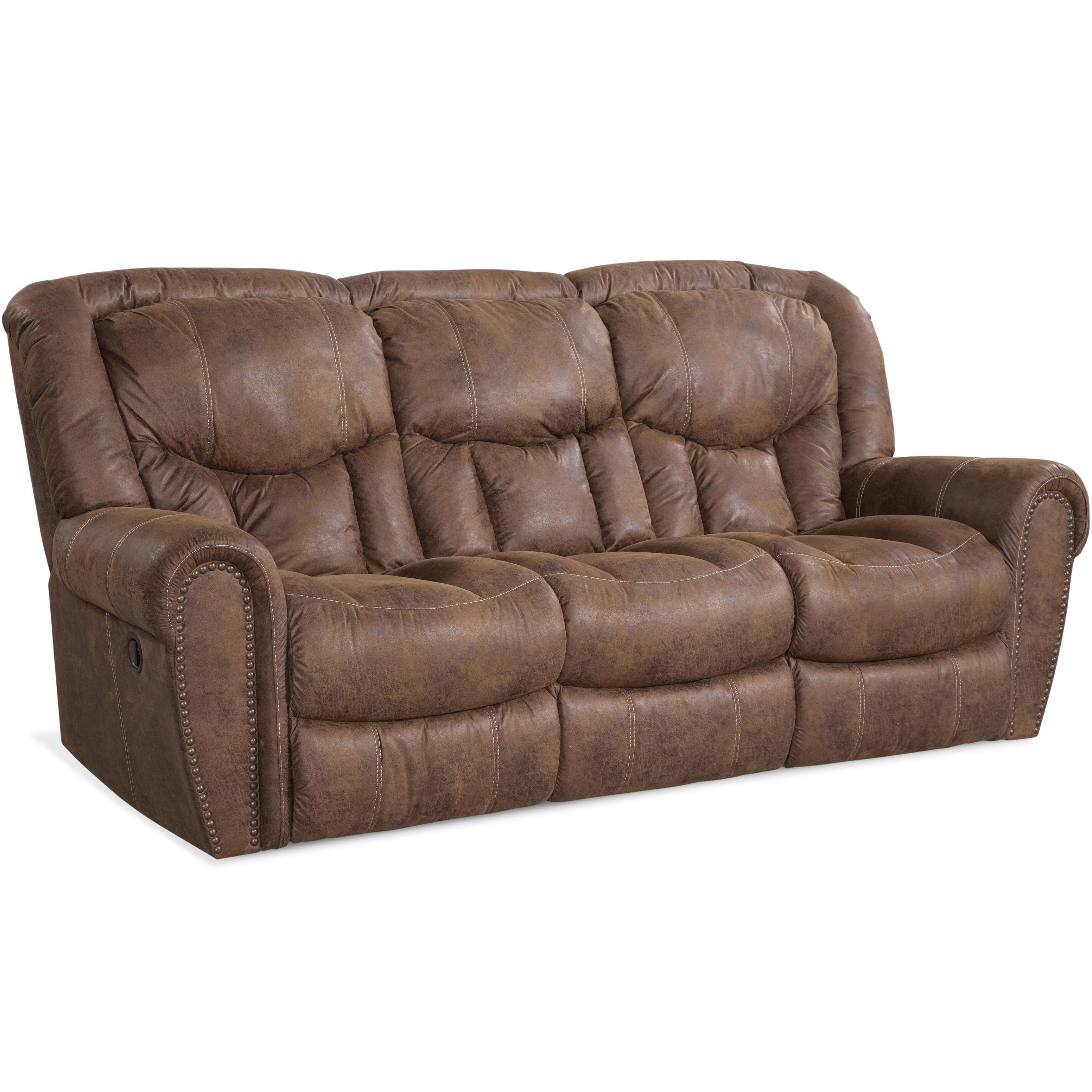 HomeStretch 123 Collection Traditional Reclining Sofa - Item Number: 123-30-17