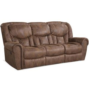 HomeStretch 123 Collection Traditional Reclining Sofa
