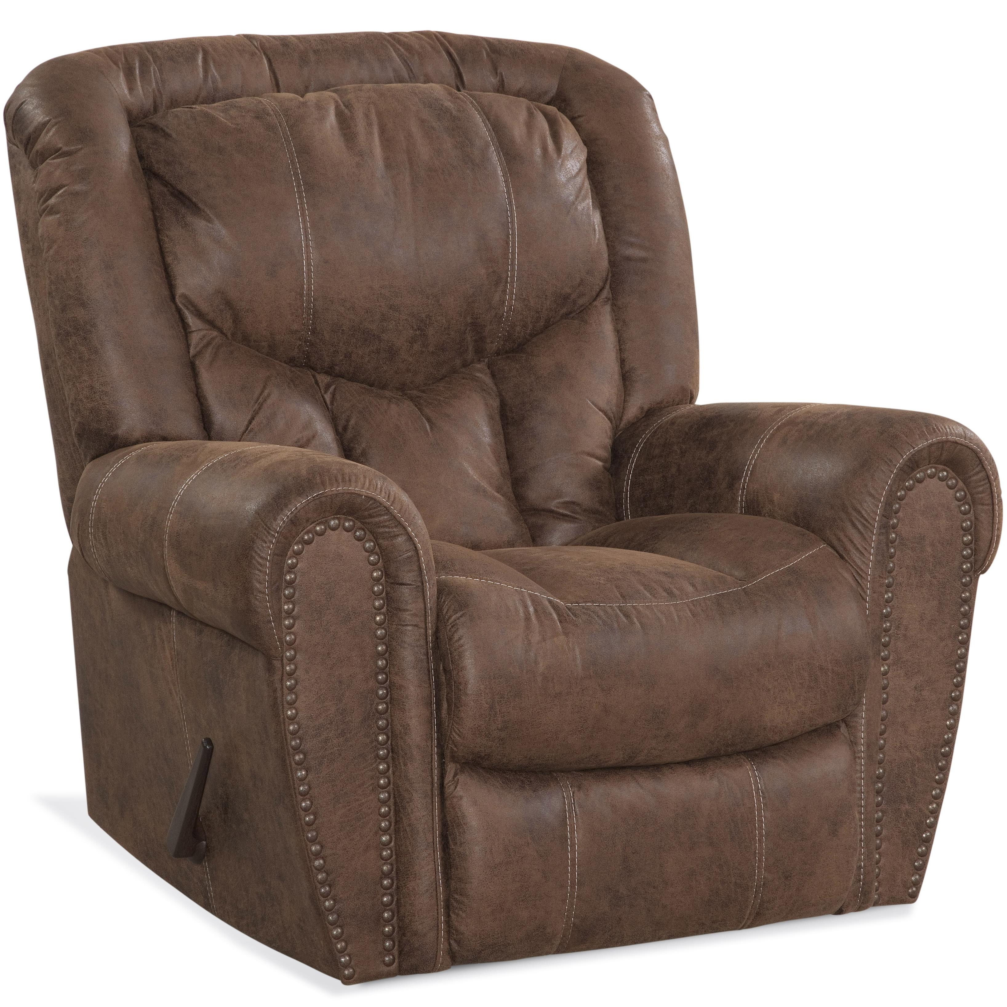 HomeStretch 123 Collection Traditional Rocker Recliner - Item Number: 123-91-17
