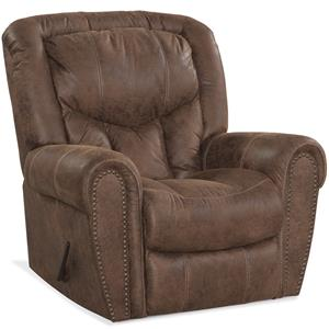 HomeStretch 123 Collection Traditional Rocker Recliner