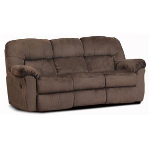 HomeStretch 125  Reclining Sofa
