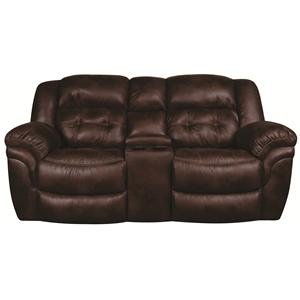 Morris Home Furnishings Elijah Elijah Reclining Loveseat with Console