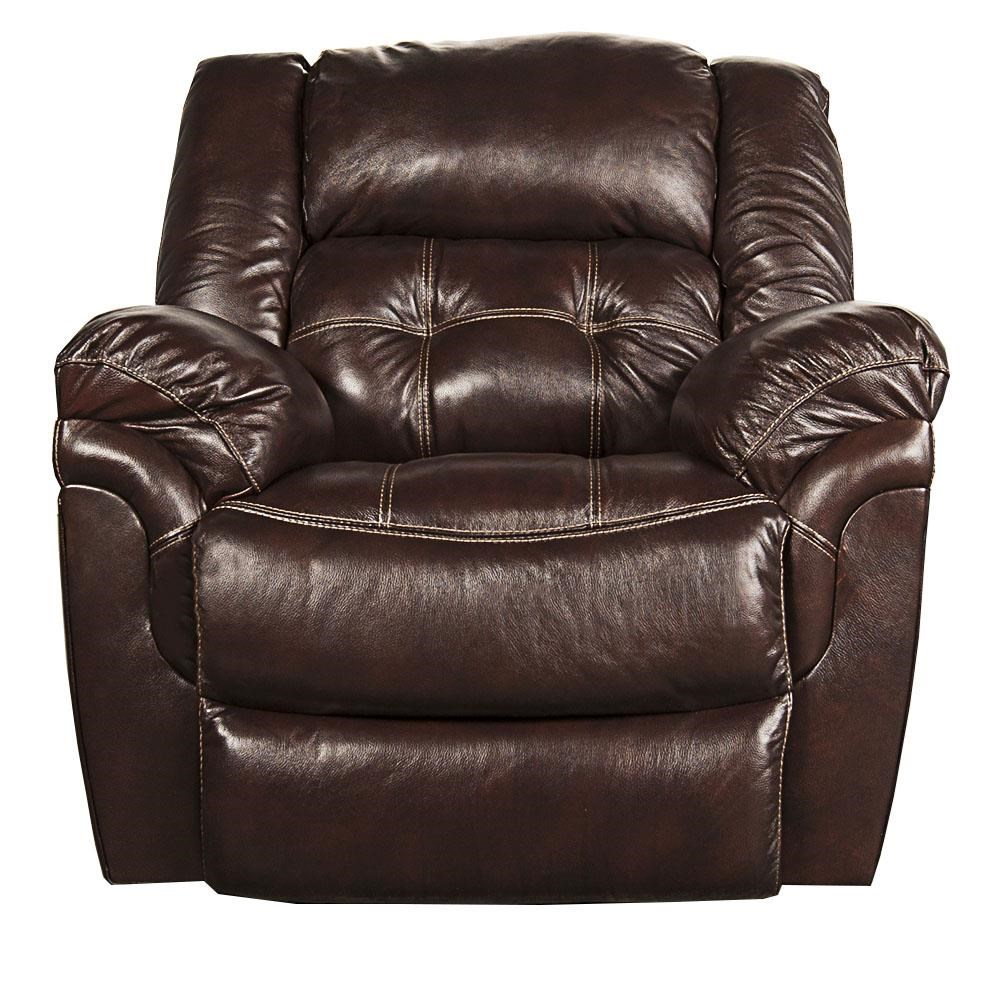 Morris Home Furnishings Elijah Elijah Leather-Match* Power Rocker Recliner - Item Number: 518917616