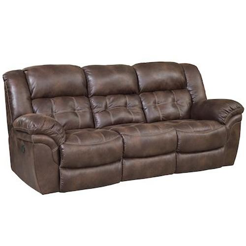 129 Power Reclining Sofa by HomeStretch at Van Hill Furniture