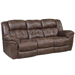 HomeStretch 129 Casual Reclining Sofa