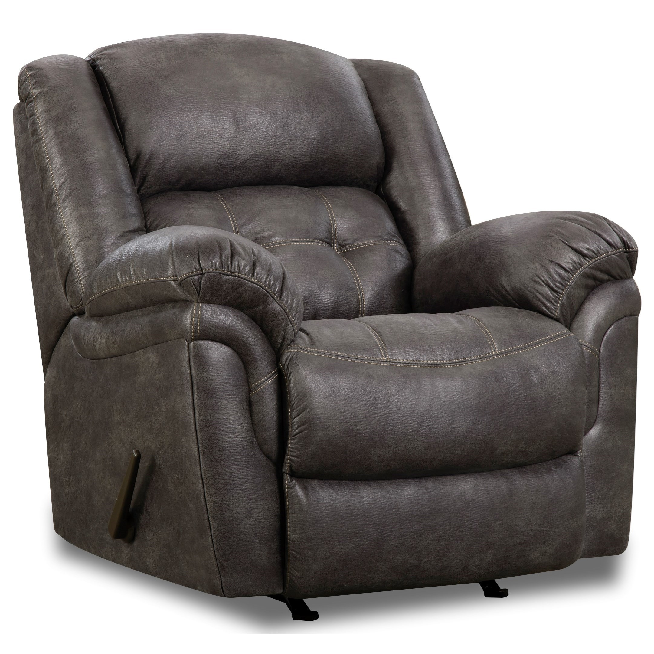 129 Power Rocker Recliner by HomeStretch at Adcock Furniture