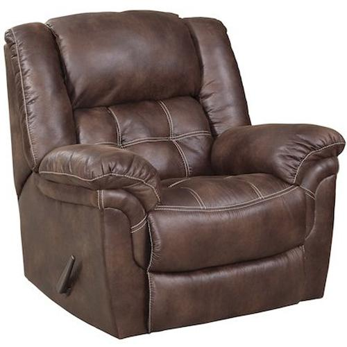 129 Power Rocker Recliner by HomeStretch at Suburban Furniture