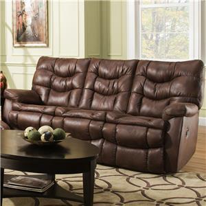 HomeStretch 130 Casual Reclining Sofa