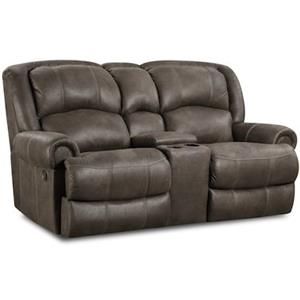 HomeStretch 131 Casual Power Reclining Love Seat