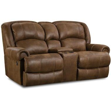 HomeStretch 131 Casual Reclining Love Seat - Item Number: 131-22-21