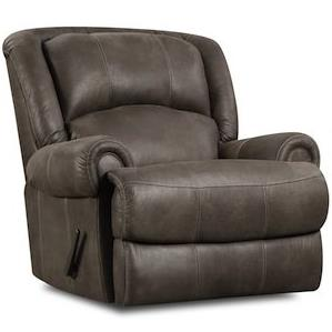 HomeStretch 131 Casual Power Rocker Recliner