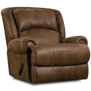 HomeStretch 131 Casual Rocker Recliner