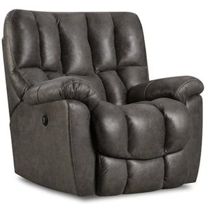 HomeStretch 133-91 Casual Rocker Recliner