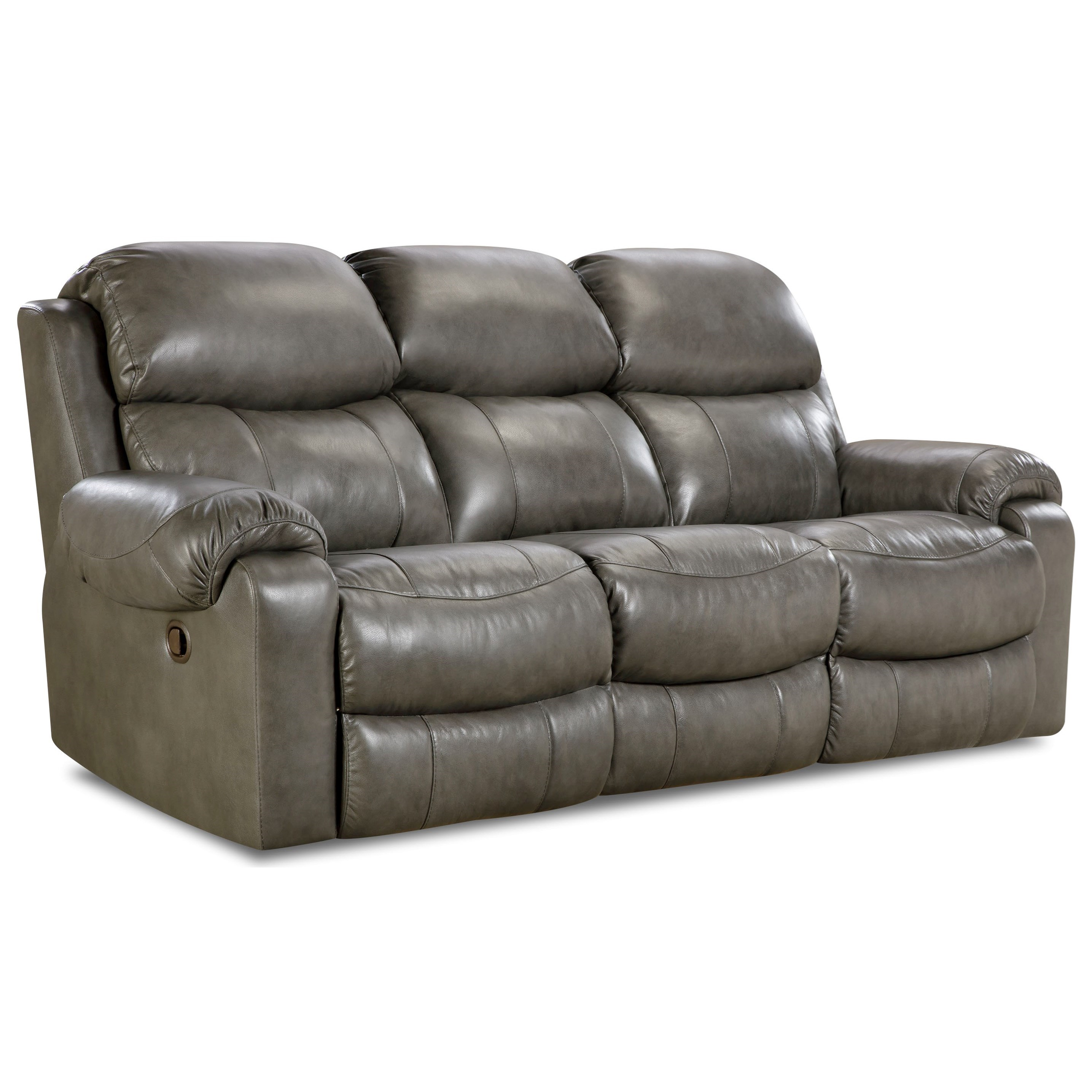 HomeStretch 135 Collection Double Reclining Sofa - Item Number: 135-30-14