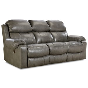 Comfort Living 135 Collection Double Reclining Sofa