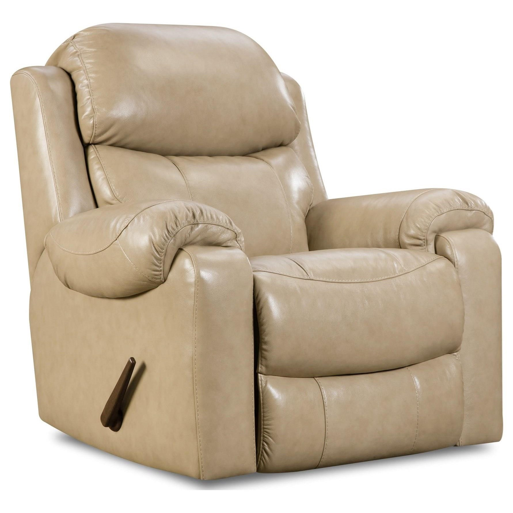 HomeStretch 135 Collection Rocker Recliner - Item Number: 135-91-10