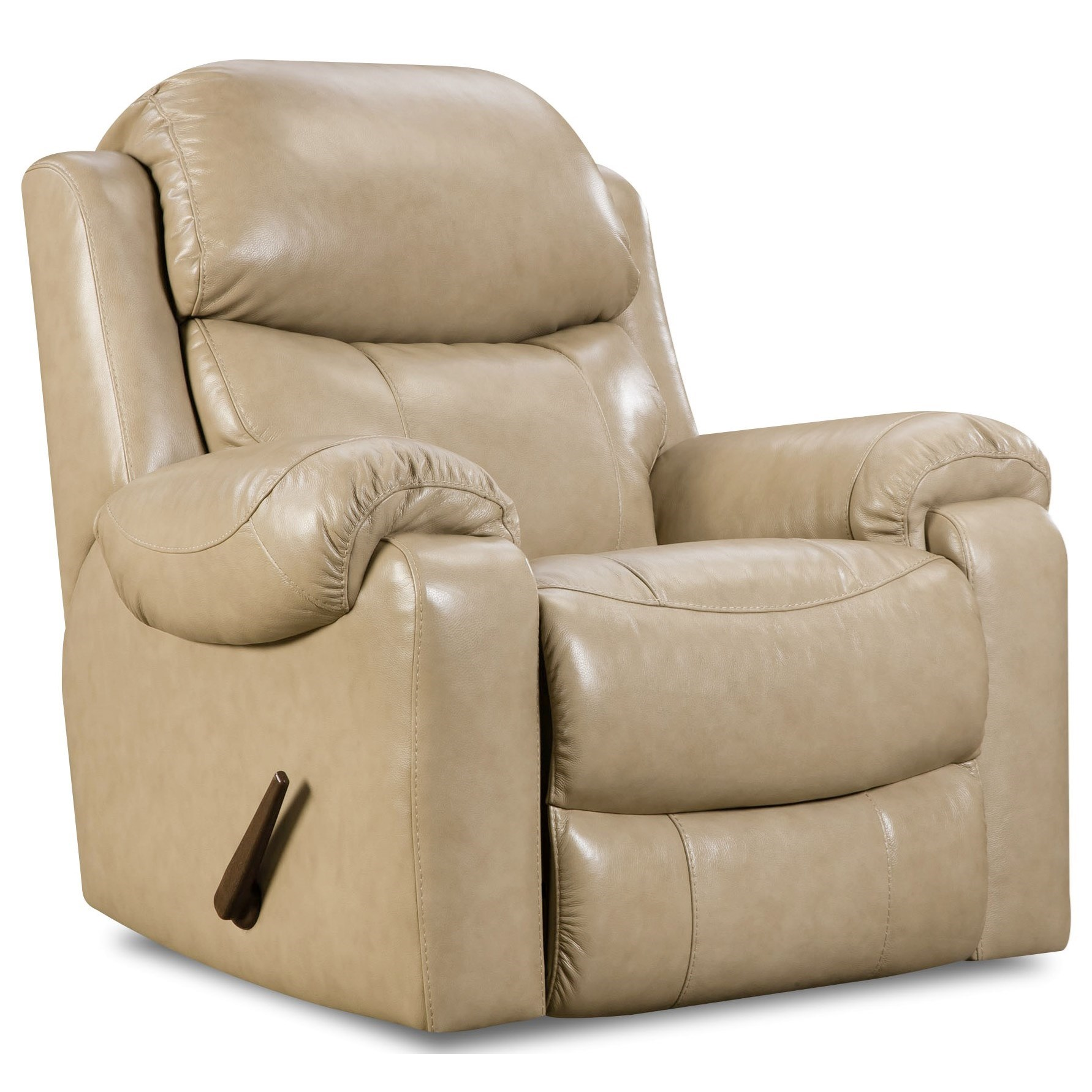 HomeStretch 135 Collection Power Rocker Recliner - Item Number: 135-98-10