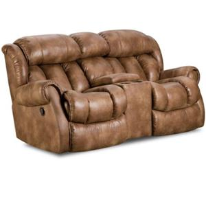 HomeStretch 136 Casual Reclining Love Seat