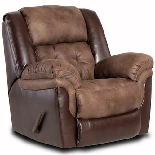 Comfort Living 139 Rocker Recliner - Item Number: 139-98-17