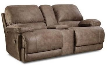 Comfort Living 147 Reclining Console Loveseat - Item Number: 147-22-17
