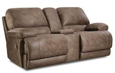 HomeStretch 147 Power Reclining Console Loveseat - Item Number: 147-29-17