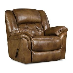 HomeStretch 155 Cheyene Leather Rocker Recliner