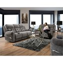 Comfort Living 165 Reclining Living Room Group - Item Number: 165 Living Room Group 1 Grey