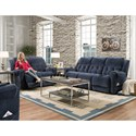 HomeStretch 165 Reclining Living Room Group - Item Number: 165 Living Room Group 1