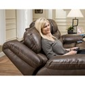 HomeStretch 168 Collection Power Console Loveseat