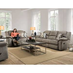 HomeStretch 173 Reclining Living Room Group