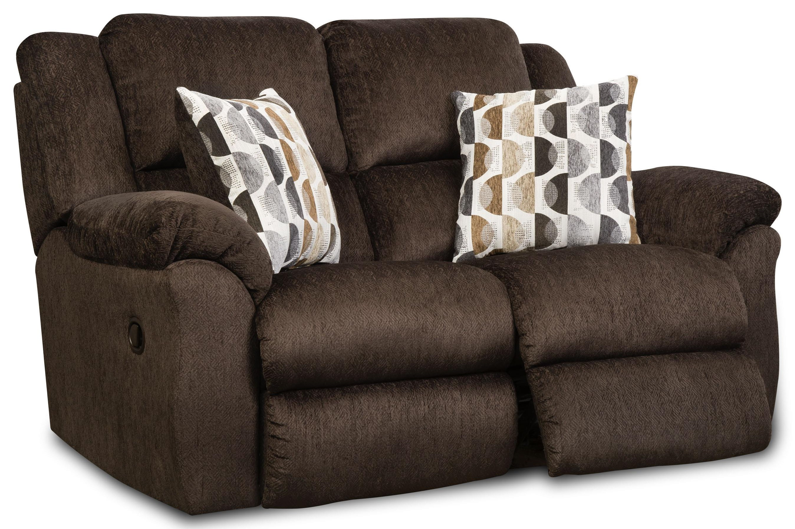 173 Double Reclining Loveseat by HomeStretch at Johnny Janosik