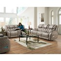 Comfort Living 174 Reclining Living Room Group - Item Number: 174 Living Room Group 1 Grey