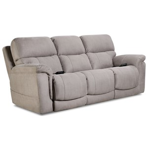 HomeStretch 175 Collection Double Reclining Power Sofa
