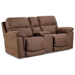 HomeStretch 175 Collection Power Console Loveseat