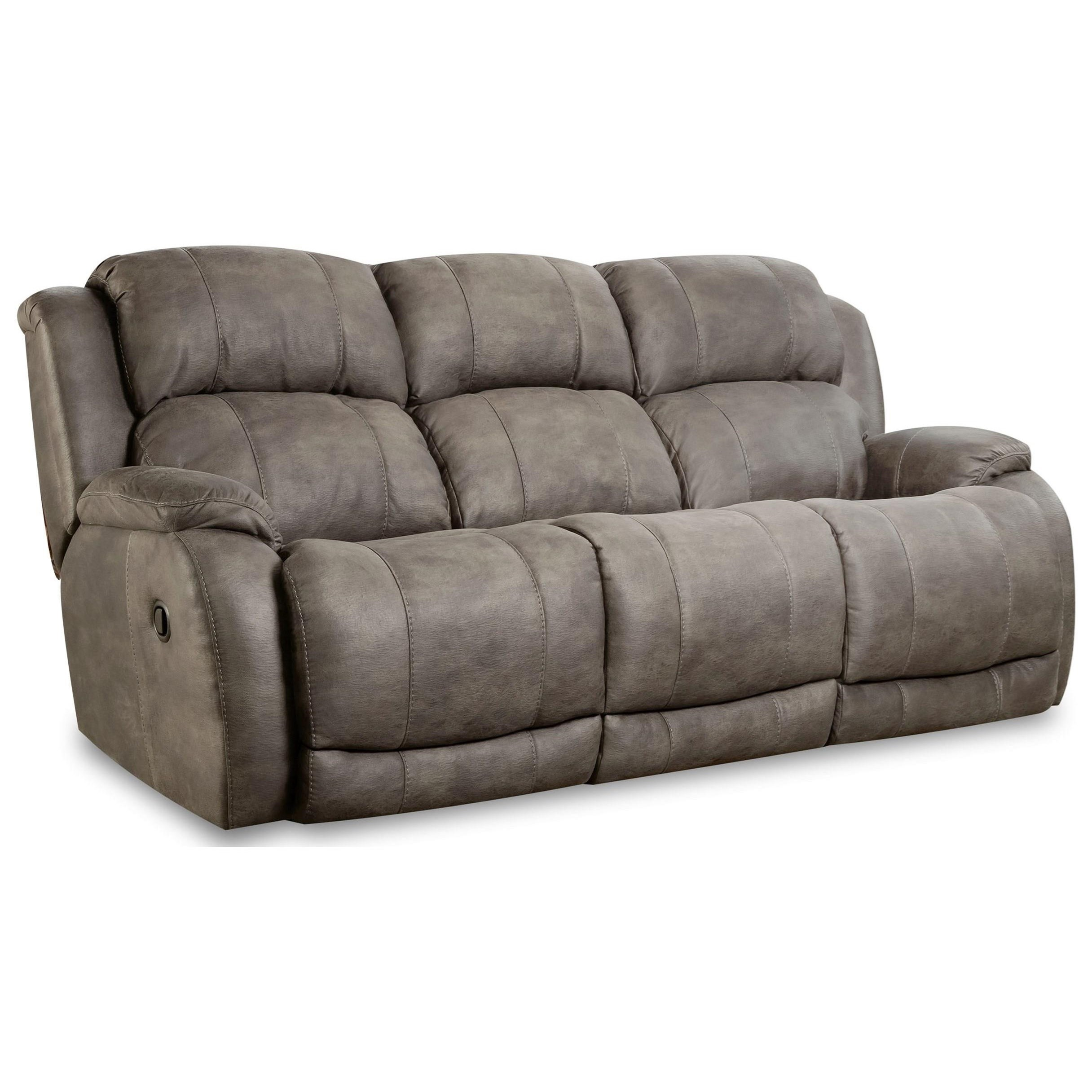 Denali Dual Reclining Sofa by HomeStretch at Hudson's Furniture