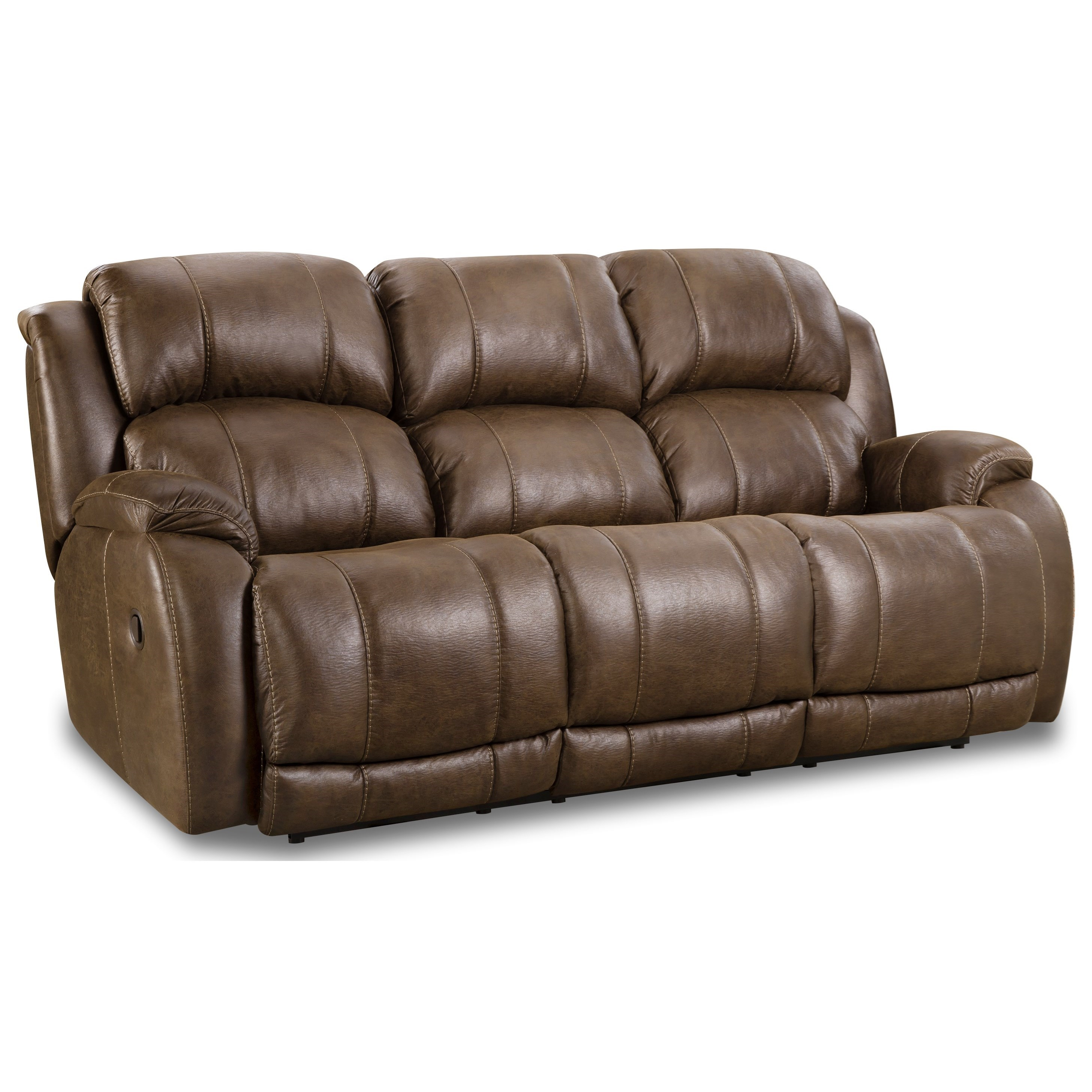 Denali Dual Power Reclining Sofa by HomeStretch at Rife's Home Furniture