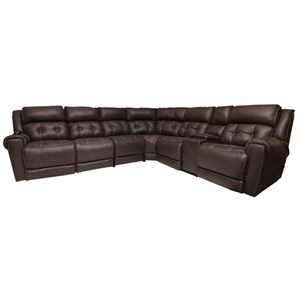 L-Shaped Power Reclining Sectional