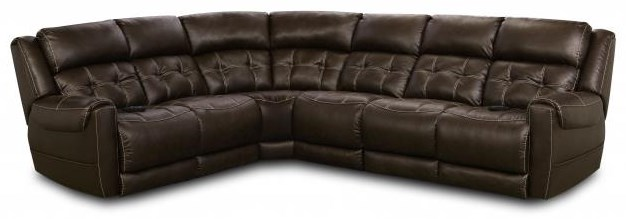 4 piece power sectional