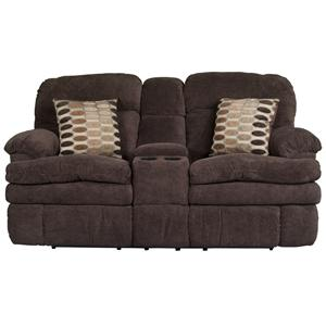 Morris Home Furnishings Trevor Trevor Reclining Loveseat