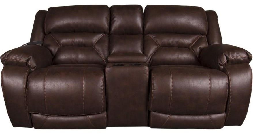 Arnette Arnette Power Reclining Loveseat by HomeStretch at Morris Home