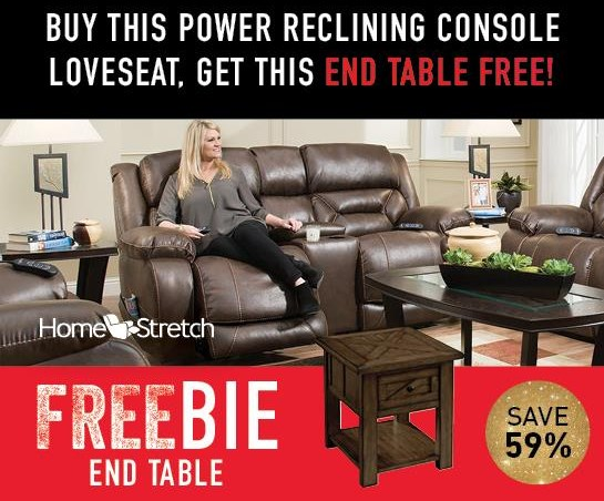 Arnette Arnette Power Loveseat with FREEBIE! by HomeStretch at Morris Home